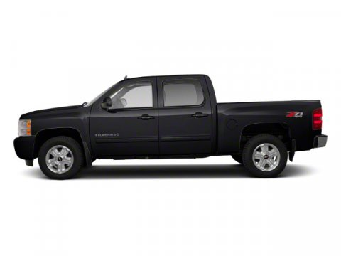 2012 Chevrolet Silverado 1500 LT Black V8 53L Automatic 72611 miles 4X4 MP3 Player KEYLESS
