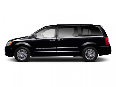 2012 Chrysler Town  Country Touring Black V6 36L Automatic 40425 miles BACK-UP CAMERA LEATHE