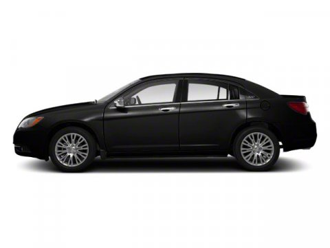 2012 Chrysler 200 Touring Black V6 36L Automatic 52231 miles  Front Wheel Drive  Power Steer