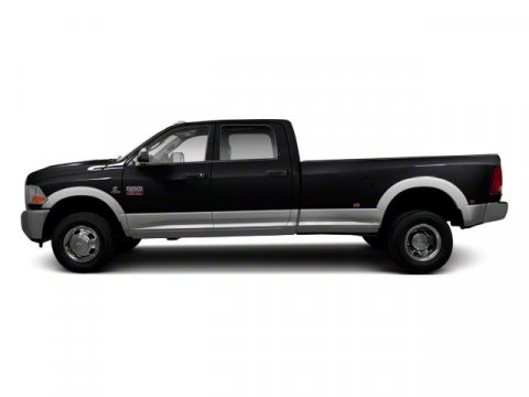 2012 Ram 3500 Laramie Black V6 67L  22269 miles DIESEL 7 SERVICE RECORDS FOUND ON CARFAX BA