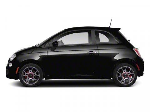 2012 FIAT 500 Sport Nero BlackBlack V4 14L Automatic 52628 miles Come see this 2012 FIAT 500