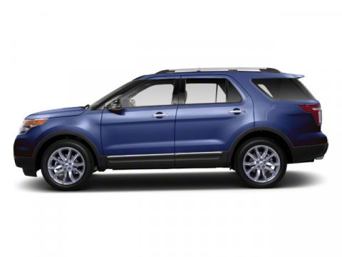 2012 Ford Explorer XLT Dark Pearl Blue Metallic V6 35L Automatic 58710 miles Certified and Cl