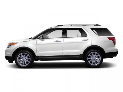 2012 Ford Explorer XLT White Suede V6 35L Automatic 35775 miles  Four Wheel Drive  Tow Hooks