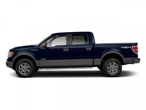 2012 Ford F-150 XLT Dark Blue Pearl MetallicSteel Gray V8 50L Automatic 3628 miles 2012 MODEL