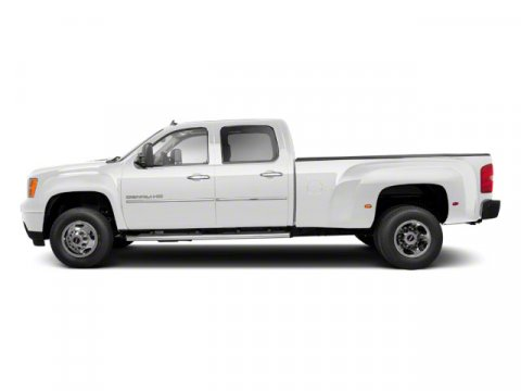 2012 GMC Sierra 3500HD SLT Summit WhiteEbony V8 66L Automatic 47725 miles  AIR BAGS HEAD CURT