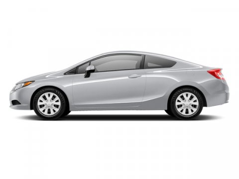 2012 Honda Civic Cpe LX Alabaster Silver Metallic V4 18L Automatic 56923 miles  Front Wheel D