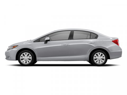 2012 Honda Civic Sdn LX Alabaster Silver MetallicBlack V4 18L Automatic 28662 miles Nice car