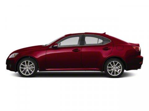 2012 Lexus IS 250 Matador Red Mica V6 25L  48288 miles  Keyless Start  Rear Wheel Drive  Pow