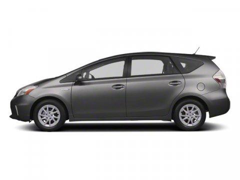 2012 Toyota Prius v Three W NAVCERTIFIEDONE OWN Magnetic Gray MetallicDARK GRAY V4 18L Var