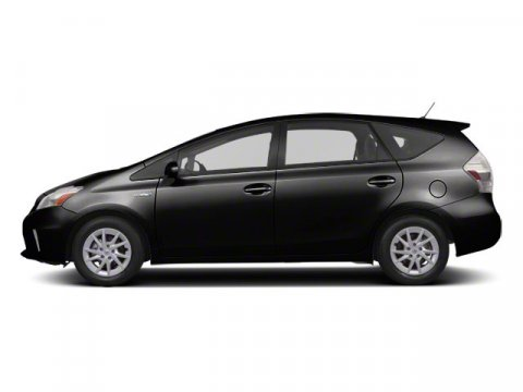 2012 Toyota Prius v Three BlackDark Gray V4 18L Variable 36000 miles  DARK GRAY FABRIC SEAT T