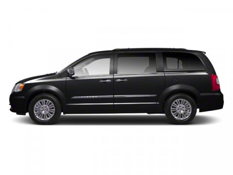 2013 Chrysler Town  Country Touring Brilliant Black Crystal PearlBlackLight Graystone Interior