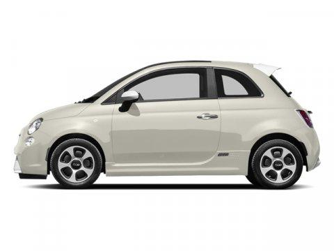 2013 FIAT 500e BATTERY ELECTRIC C Bianco Perla Pearl White Tri-Coat V4 0 Automatic 1817 miles