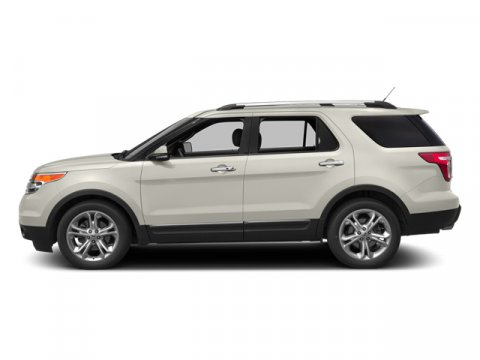 2013 Ford Explorer Limited White Platinum Metallic Tri-coat V6 35L Automatic 36041 miles  Fron