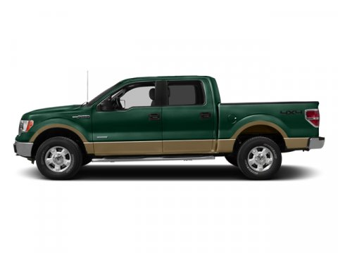 2013 Ford F-150 Lariat NAVIGATION PKG Green Gem MetallicPale Adobe V6 35L Automatic 22986 mile