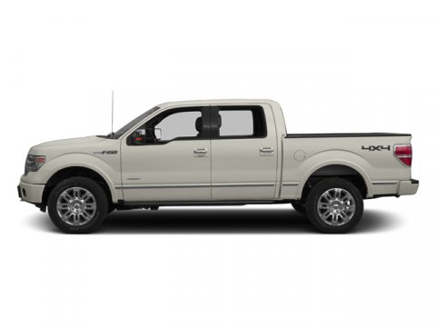 2013 Ford F-150 Platinum White Platinum Metallic Tri-CoatPecan WBlack Interior V8 50L Automatic