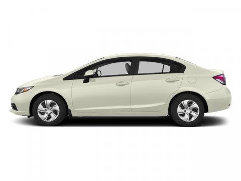 2013 Honda Civic Sdn LX Taffeta White V4 18L Automatic 6272 miles  Front Wheel Drive  Power