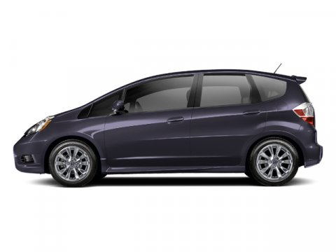 2013 Honda Fit Sport Midnight Plum Metallic V4 15L Automatic 2 miles  Front Wheel Drive  Powe