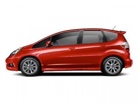 2013 Honda Fit Sport Milano Red V4 15L Manual 2 miles  Front Wheel Drive  Power Steering  Fr