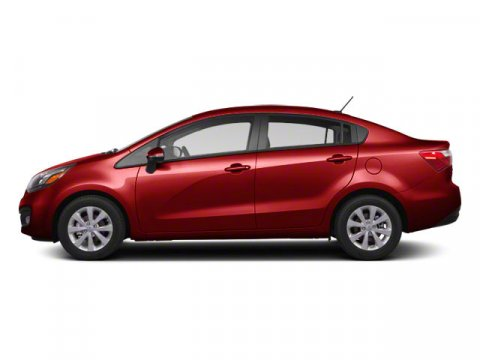 2013 Kia Rio 16L Signal Red V4 16L Automatic 26275 miles  Front Wheel Drive  Power Steering