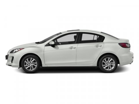 2013 Mazda Mazda3 i Touring Crystal White Pearl MicaGray V4 20L Automatic 28214 miles  Front