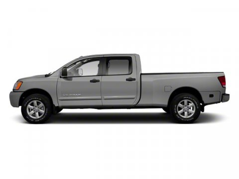 2013 Nissan Titan SL Brilliant Silver V8 56L Automatic 12 miles  Rear Wheel Drive  Tow Hitch