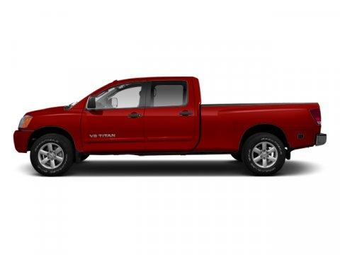 2013 Nissan Titan SV Cayenne Red V8 56L Automatic 40837 miles Titan SV 4D Crew Cab 4WD ABS
