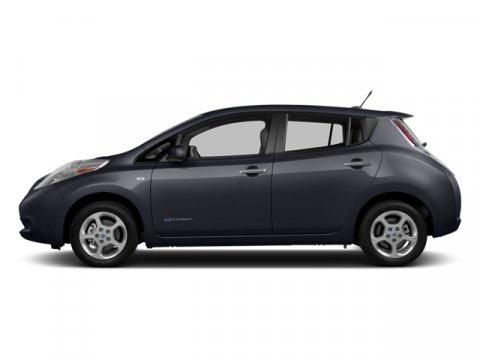2013 Nissan LEAF Metallic Slate V  Automatic 30375 miles  Electric Motor  Keyless Start  Fro