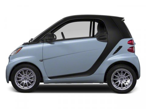 2013 smart fortwo Passion Light Blue MetallicDesign Black Fa V3 10 Automatic 5 miles Only 1