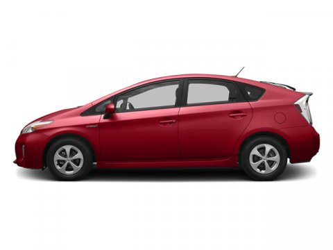 2013 Toyota Prius Three Barcelona Red MetallicDark Gray V4 18L Variable 5 miles The worlds fi