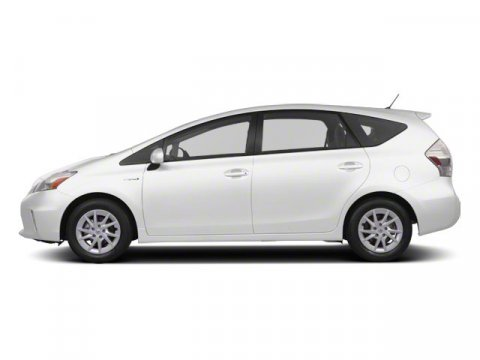 2013 Toyota Prius v Five Blizzard PearlDark Gray V4 18L Variable 5 miles The worlds first and