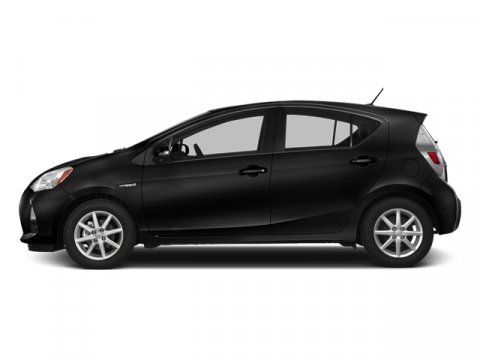 2013 Toyota Prius c Two Black Sand Pearl V4 15L Variable 4485 miles  Keyless Start  Front Whe