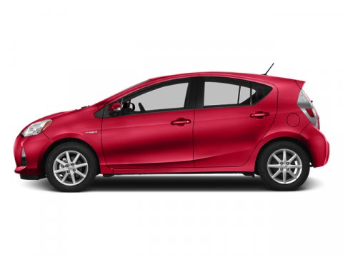 2013 Toyota Prius c Two Absolutely RedLight Blue GrayBlack V4 15L Variable 85 miles The world