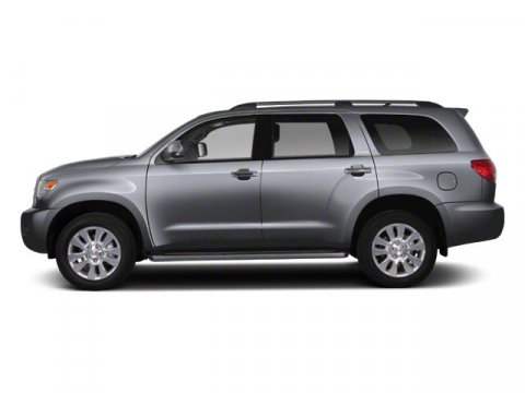 2013 Toyota Sequoia SR5 Silver Sky MetallicGray V8 57L Automatic 5 miles If you need the peopl