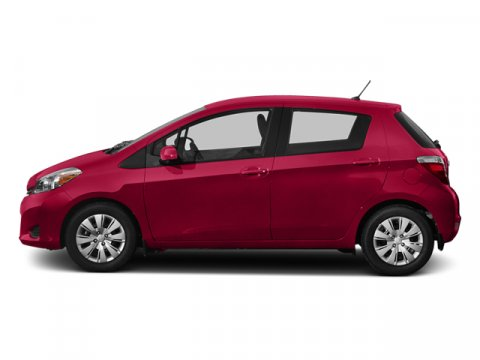 2013 Toyota Yaris Absolutely Red V4 15L Automatic 0 miles  Front Wheel Drive  Power Steering