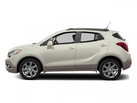 2014 Buick Encore Premium White Pearl Tricoat V4 14 Automatic 134 miles You might not expect a