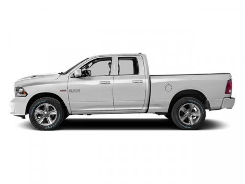 2014 Ram 1500 Sport Bright White ClearcoatBlack V8 57 L Automatic 0 miles  ANTI-SPIN DIFFERENT