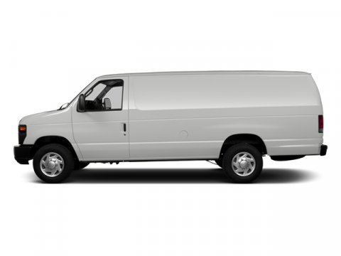 2014 Ford Econoline Cargo Van Commercial Oxford WhiteMedium Flint V8 46 L Automatic 3 miles 13
