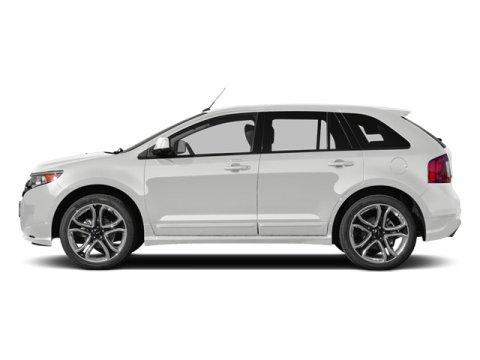 2014 Ford Edge Sport White Platinum Metallic Tri-CoatBlk W Silver V6 37 L Automatic 11 miles