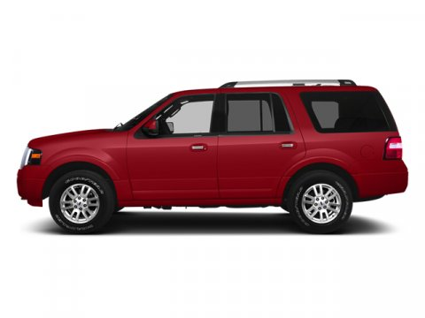 2014 Ford Expedition XLT Ruby Red Metallic Tinted Clearcoat4C Monotone Leather Bucket Seats Camel