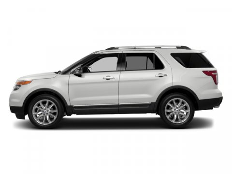 2014 Ford Explorer XLT White Platinum Metallic Tri-CoatLight Stone V6 35 L Automatic 0 miles T