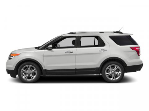 2014 Ford Explorer Limited White Platinum Metallic Tri-CoatChar Black V6 35 L Automatic 175 mil