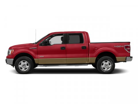 2014 Ford F-150 Lariat Ruby Red Metallic Tinted ClearcoatPale Adobe V6 35 L Automatic 12012 mi