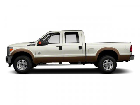 2014 Ford Super Duty F-350 SRW Lariat Oxford WhiteCharcoal Black V8 67 L Automatic 5 miles The