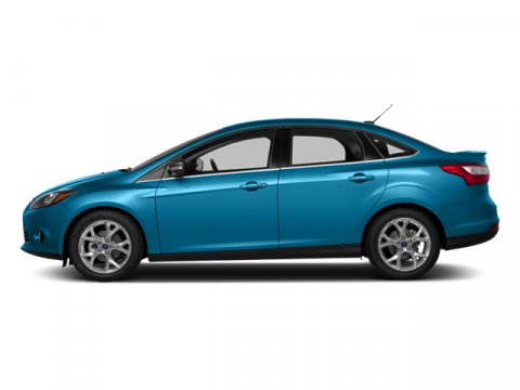2014 Ford Focus Titanium Blue Candy Tinted ClearcoatChar Blk V4 20 L Automatic 0 miles Driving