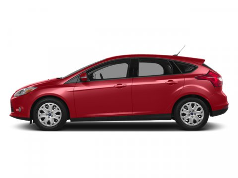 2014 Ford Focus Titanium Ruby Red Tinted ClearcoatChar Blk Lthr V4 20 L Automatic 12 miles  NA
