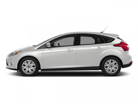 2014 Ford Focus Titanium White Platinum Tri-CoatChar Blk V4 20 L Automatic 5 miles Driving the