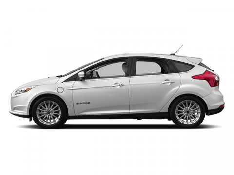 2014 Ford Focus Electric FOCUS 5-DOOR HATCH ELECTRIC Oxford WhiteMedium Light Stone V 00 Automat