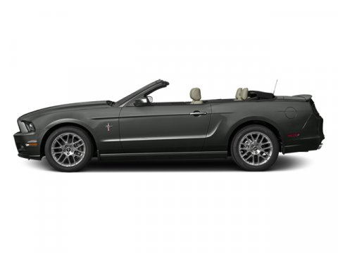 2014 Ford Mustang V6 Premium Sterling Gray MetallicChar Blk V6 37 L Automatic 0 miles The Ford