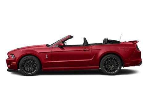 2014 Ford Mustang Shelby GT500 Ruby Red Metallic Tinted ClearcoatBlack WWhite Accents V8 58 L M
