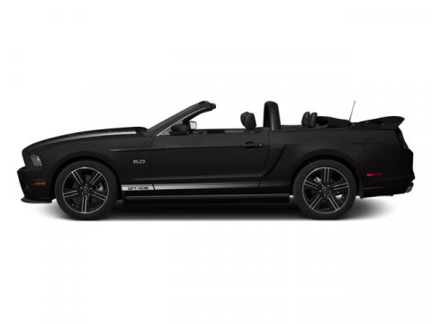 2014 Ford Mustang Black V8 50 L  0 miles The Ford Mustang takes to the streets meaner than eve